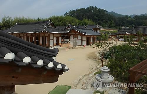 고 육영수 여사 생가 [연합뉴스 자료사진]