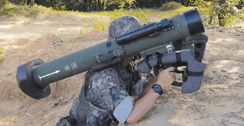 보병용 중거리 유도무기 '현궁' 체계 운용