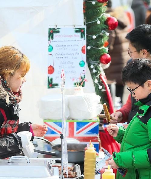 지난해 열린 성북구 유러피안 크리스마스 마켓