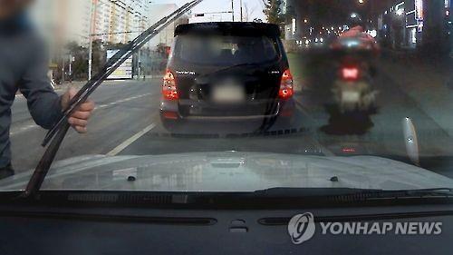 보복운전 [연합뉴스 자료사진]