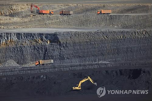 몽골 탈반 톨고이의 석탄광산[EPA=연합뉴스]