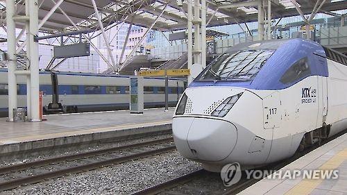 KTX열차 [연합뉴스 자료사진]