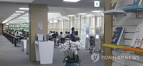 선바위도서관 전경