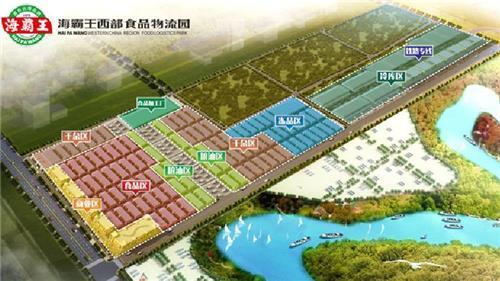 하이바오왕 청두 물류센터 <인터넷 사이트 캡처>