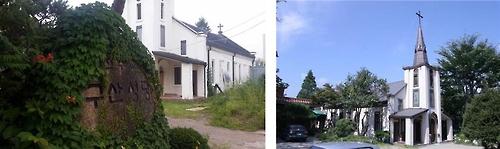 구산성당 옛 모습