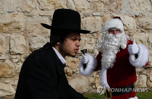 예수 탄생지 이스라엘서 성탄트리 '금지령' 논란