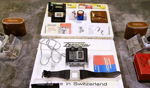 스위스제 초소형 스파이 카메라