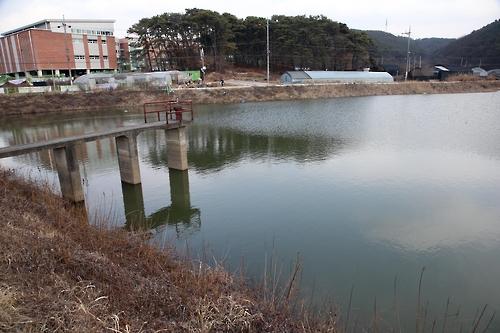 '겨울 가뭄'에 저수지 물 부족