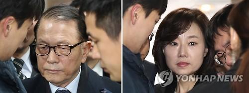 블랙리스트 의혹 핵심 김기춘·조윤선