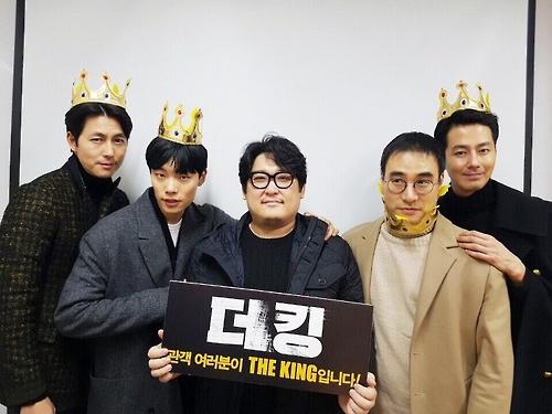 조인성 흥행킹…'더 킹' 개봉 4일째 100만명 돌파