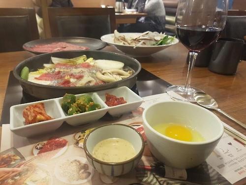 소고기 요리 '혼밥'