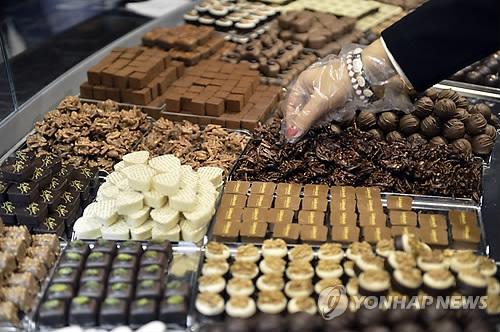 스위스 초콜릿 [AP=연합뉴스 자료사진]