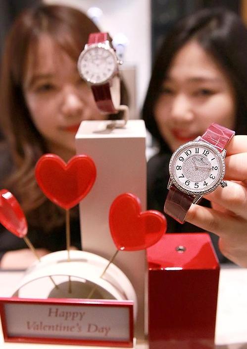 현대백화점 예거 르쿨트르의 6천50만원짜리 시계