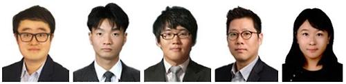 나노막대 양자점 LED 개발 연구자들