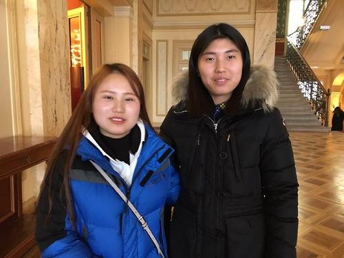 유엔에서 강제노동 진술한 탈북 청소년들