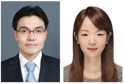 KAIST 나노과학기술대학원 윤동기 교수(왼쪽)와 논문 제1 저자 김한임 박사