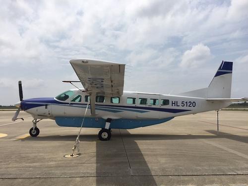 신한에어 '스타이투어' 항공기