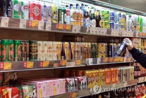 다양한 수입맥주 [연합뉴스 자료사진]