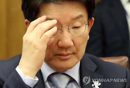 """""""국민희생이 만든 나라를 비선이…"""" 최후진술 중 권성동 '울컥'"""