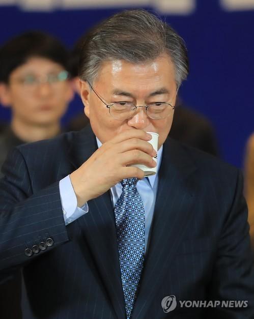 文 '포스트 탄핵' 채비…'準섀도캐비닛' 띄우며 '대세론' 확산