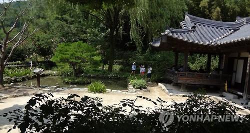 하동 최 참판댁 별당채 [연합뉴스 자료사진]