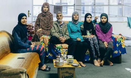 브라질에 도착한 시리아 난민들[출처:브라질 뉴스포털 G1]