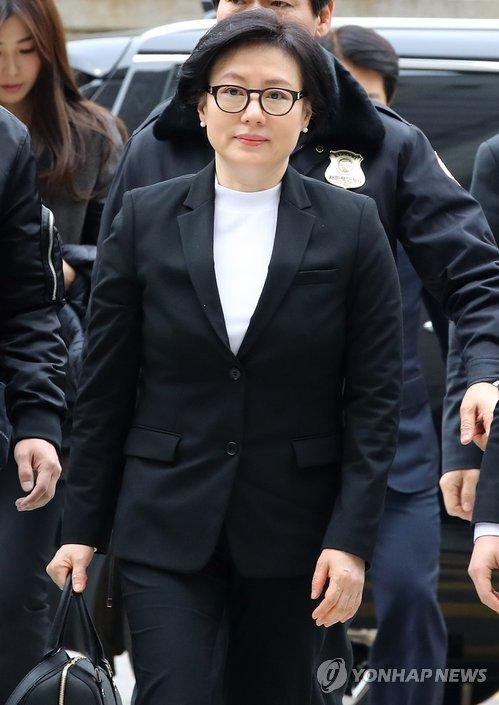 신격호 회장과 사실혼 관계인 서미경 씨 [연합뉴스 자료사진]
