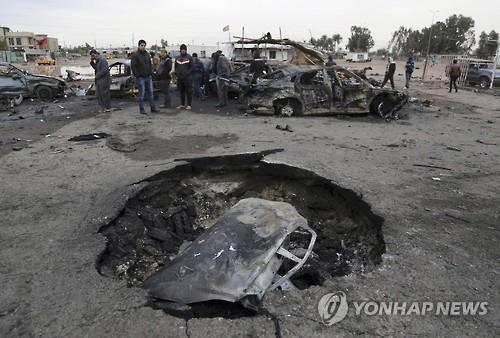 최근 발생한 바그다드 차량 테러[자료사진]