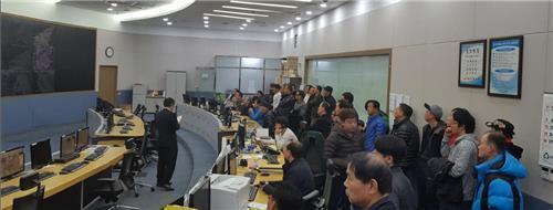 성남시 U-city 교통상황실 버스운전자 교육
