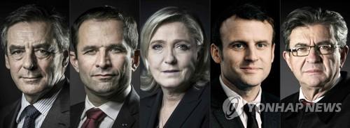 프랑스 대선 후보 5인방