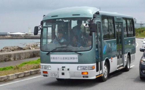 공공자율주행버스 실증실험 시작
