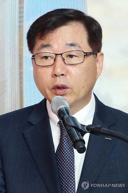 인사말 하는 박현철 대표이사