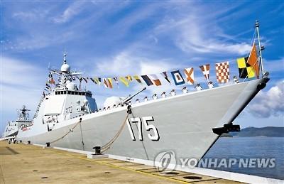 지난해 남중국해에 투입된 175호 인촨호[연합뉴스 자료사진]