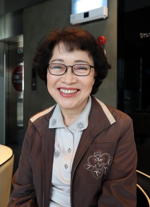 '의인 이수현' 어머니 신윤찬씨