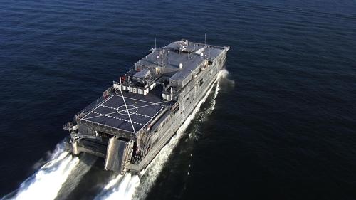 미 해군의 최신형 수송함 폴 리버[위키미디어 제공]