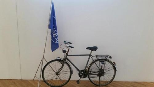 김우중 전 회장이 대우중공업 거제 옥포조선소에서 타던 자전거