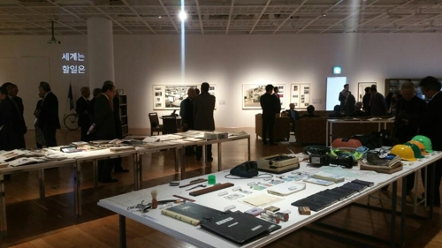 '기업보고서: 대우 1967-1999' 전시장 모습