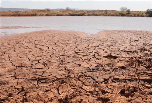 바닥을 드러낸 아프리카의 강 [연합뉴스 자료사진]