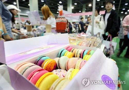 마카롱[연합뉴스 자료사진]