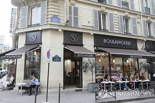 파리바게뜨 프랑스 파리 1호점(샤틀레점)