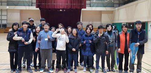발달장애인 배드민턴 동호회 '까치클럽'