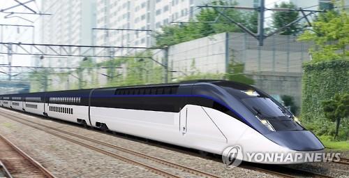 한국형 2층 고속열차 콘셉트 디자인 [연합뉴스 자료사진]