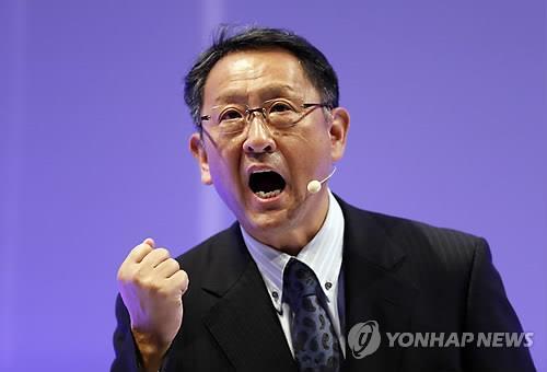 도요타의 CEO, 도요다 아키오 사장