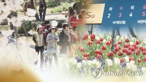5월 황금연휴[연합뉴스 자료사진]