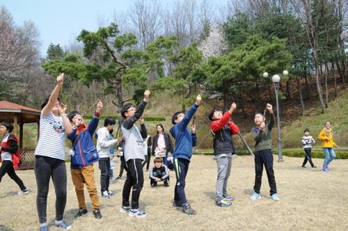 국방과학연구소 견학·체험 프로그램에 참가한 학생들