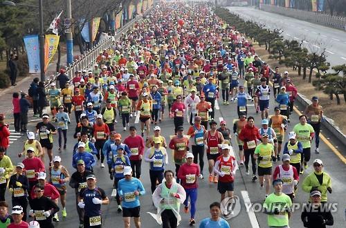 전국 마라톤대회[연합뉴스 자료사진]