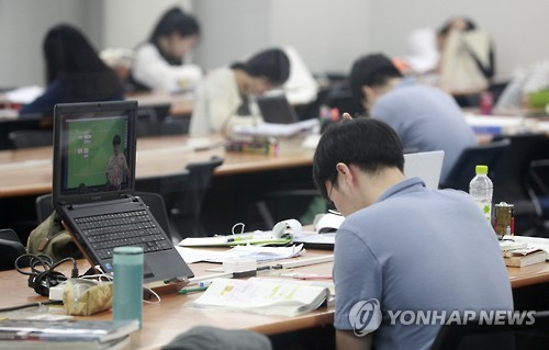 취업힘든 청년들[연합뉴스 자료사진]