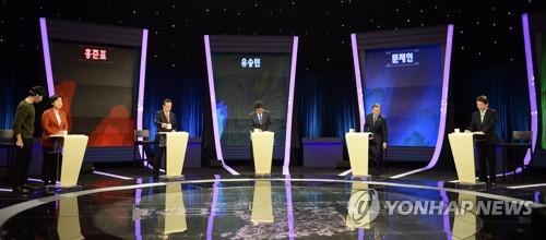 TV 토론 앞둔 대선후보들