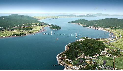 삼산연륙교 조감도