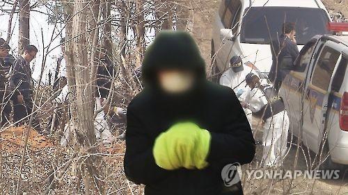 살해 암매장 CG [연합뉴스 자료사진]